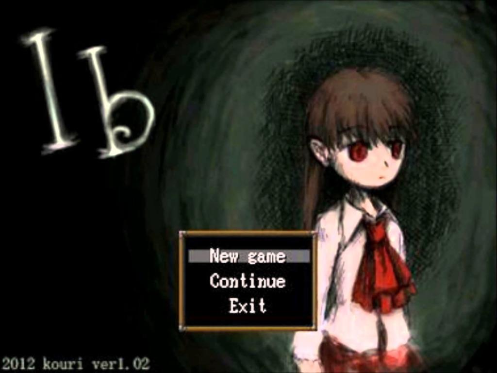 Ibのタイトル画面