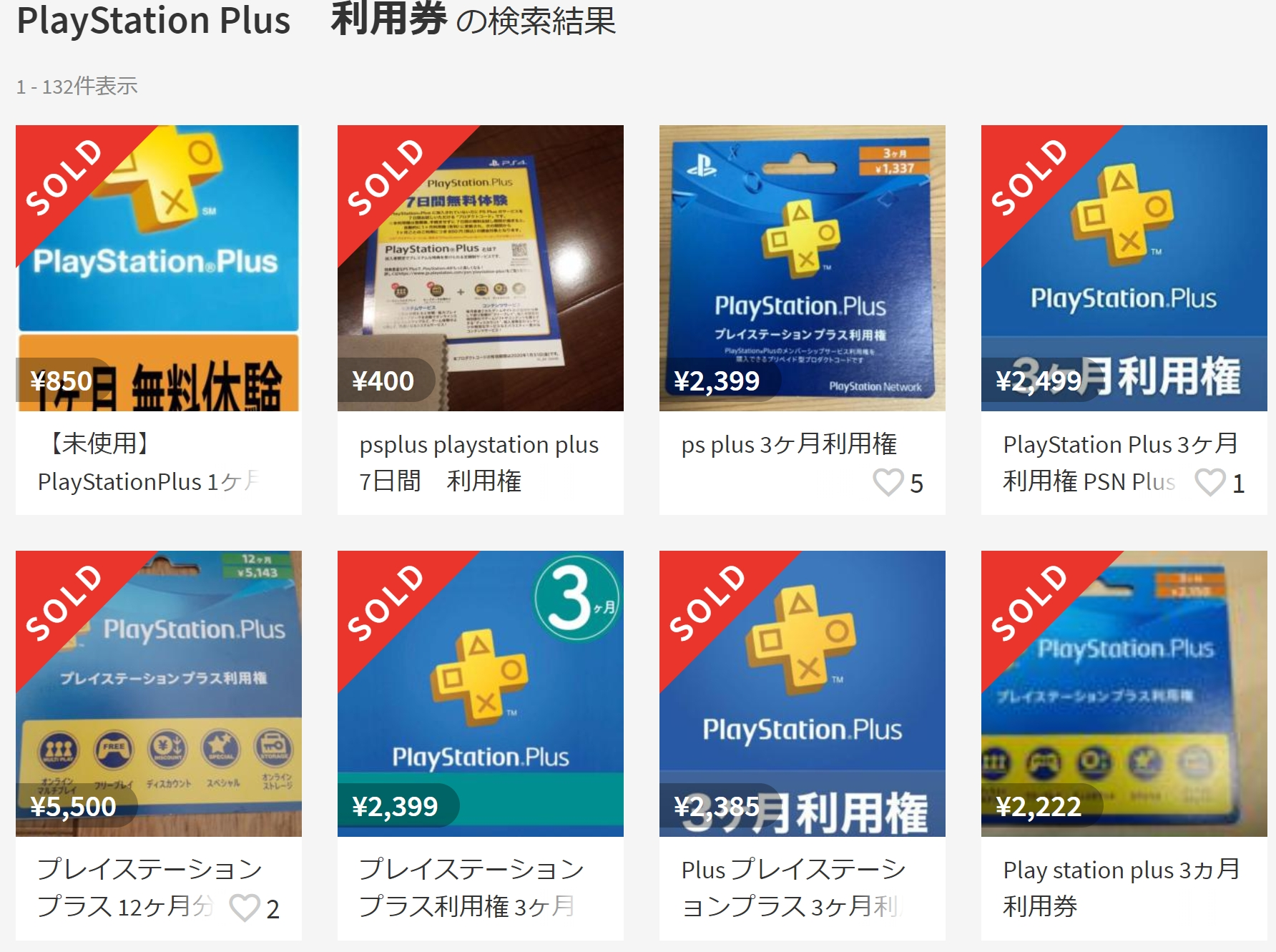 PlayStation Plusの料金