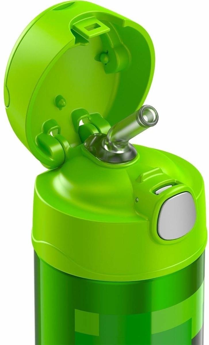 マインクラフトのクリーパーみたいな水筒