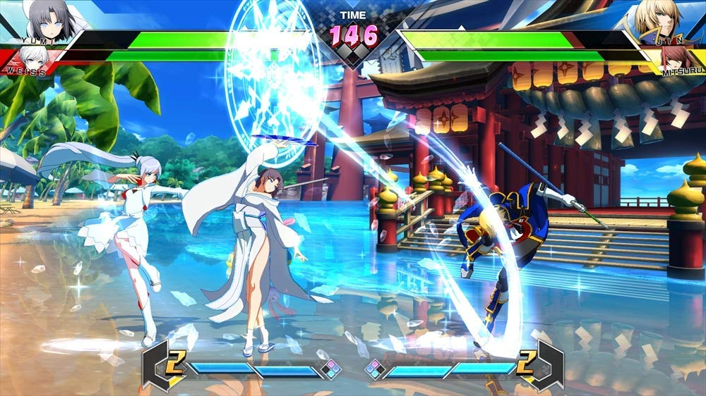 BLAZBLUE CROSS TAG BATTLEのゲーム画面