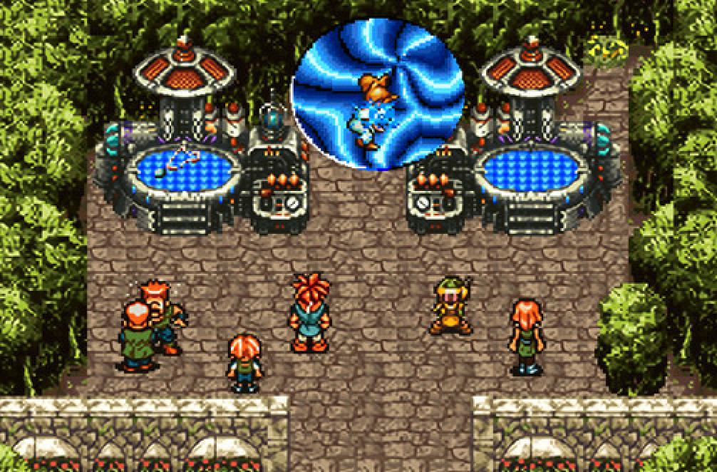クロノトリガーのゲーム画面