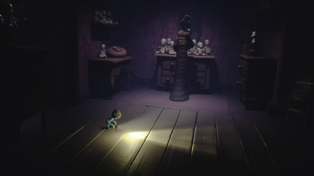 リトルナイトメアのゲーム画面