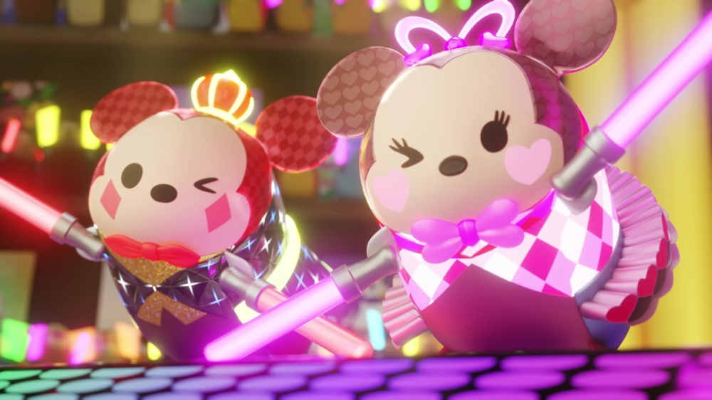 ディズニー ツムツム フェスティバルのゲーム画面
