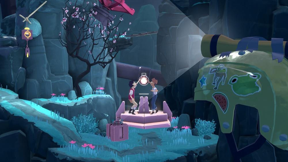 The Gardens Betweenのゲーム画面