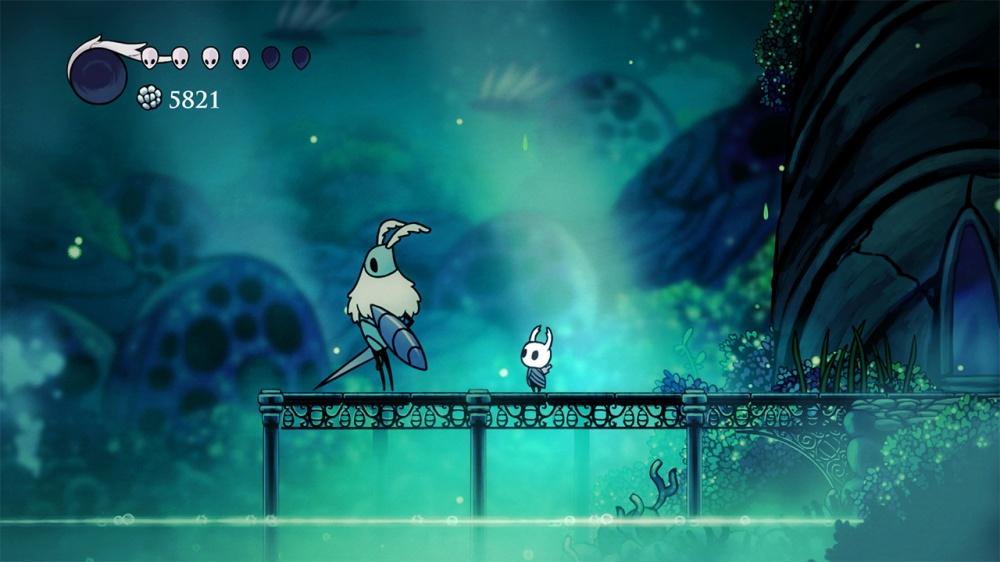 ホロウナイトのゲーム画面