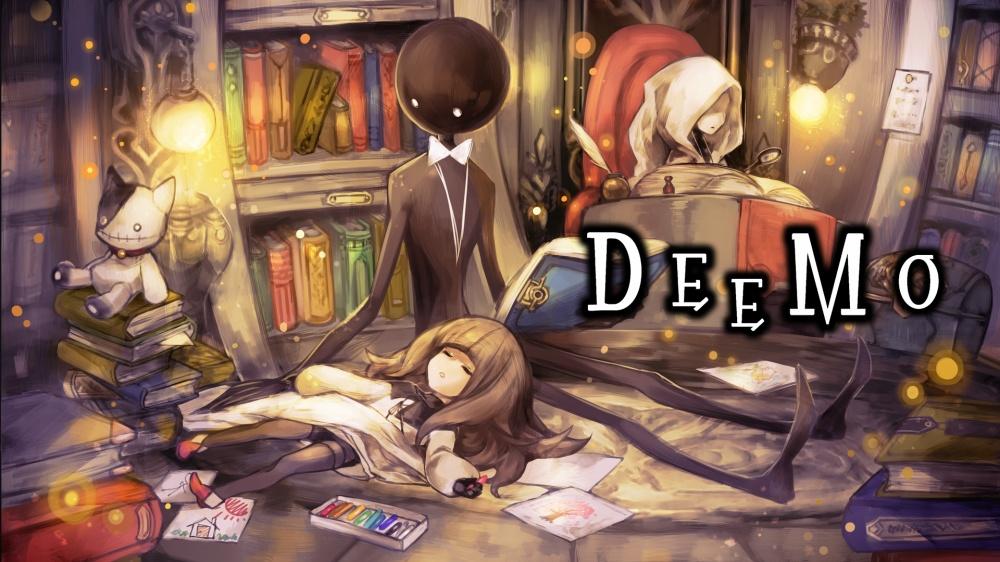 DEEMOのタイトル画面