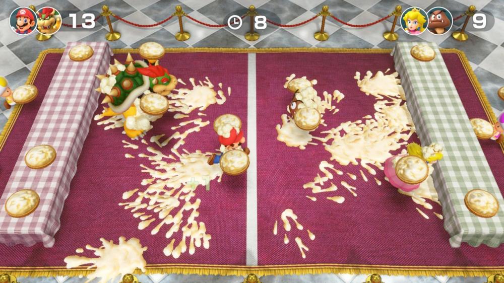スーパー マリオパーティのゲーム画面