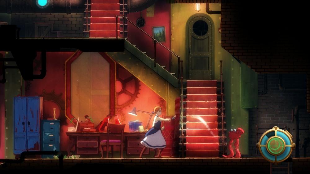 フォーゴットン・アンのゲーム画面