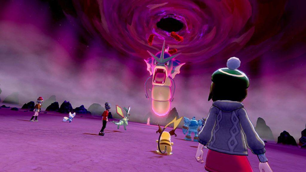 ポケットモンスター シールドのゲーム画面