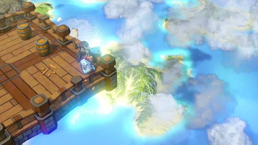 レミロア~少女と異世界と魔導書~のゲーム画面