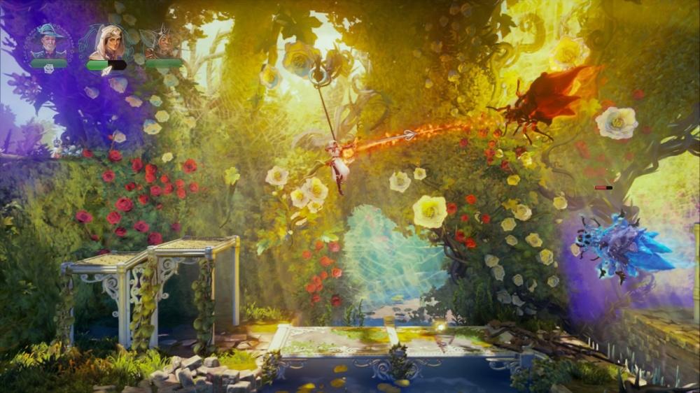 トライン4:ザ・ナイトメア プリンスのゲーム画面