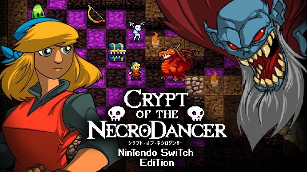クリプト・オブ・ネクロダンサーのタイトル画面