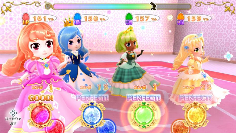 プリティ・プリンセスのゲーム画面