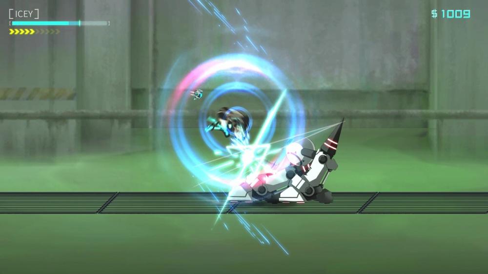 ICEYのゲーム画面