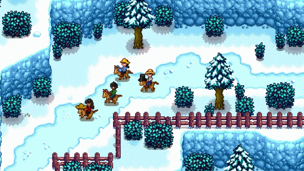 Stardew Valleyのゲーム画面