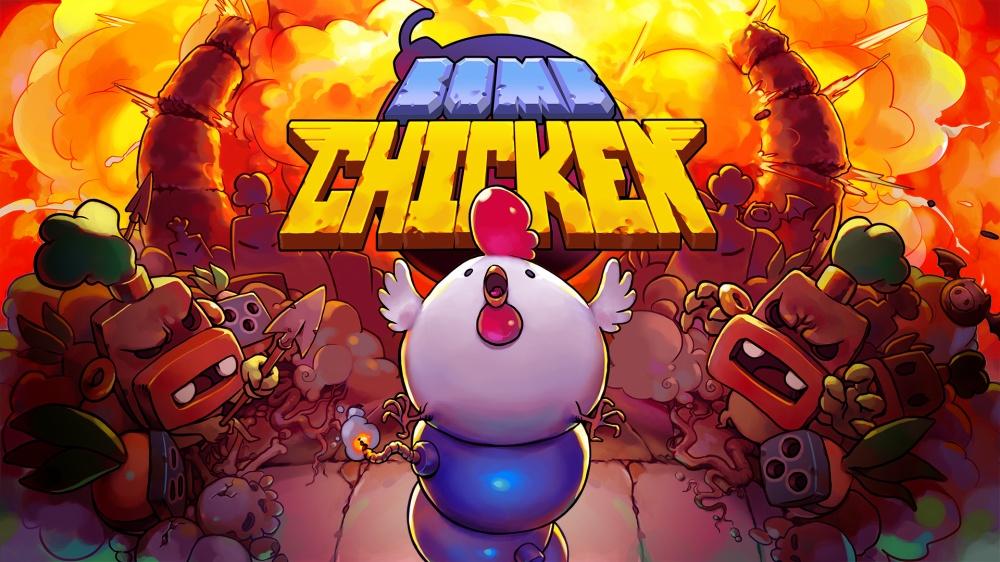 bomb chickenのタイトル画面