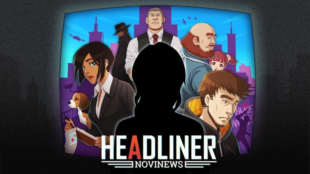 ヘッドライナー:ノヴィニュースのタイトル画面
