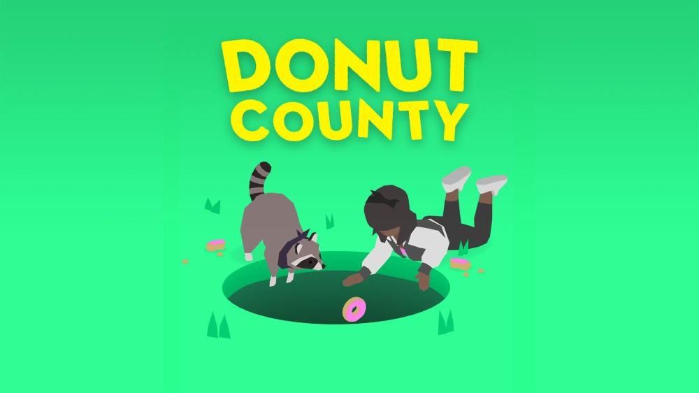 ドーナツ カウンティのタイトル画面