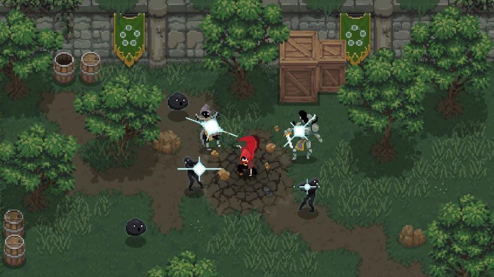 Wizard of Legendのゲーム画面