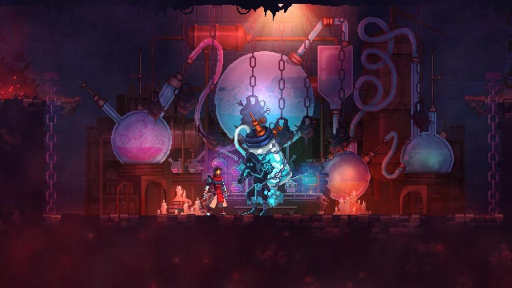 Dead Cellsのゲーム画面