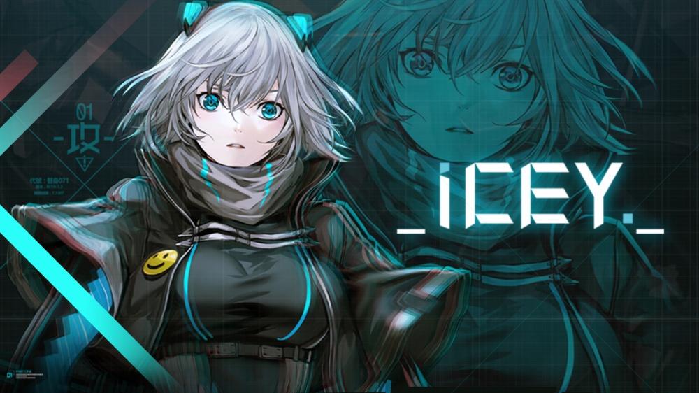 ICEYのタイトル画面