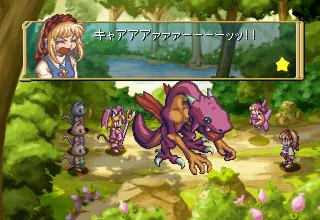 マール王国の人形姫のゲーム画面
