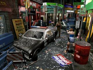 BIOHAZARD 3のゲーム画面
