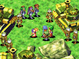グランディアのゲーム画面