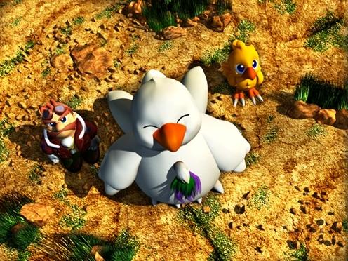 チョコボの不思議なダンジョン2のゲーム画面