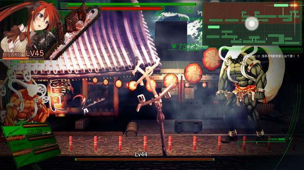 DEAD OR SCHOOLのゲーム画面