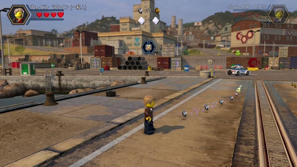 レゴシティ アンダーカバーのゲーム画面