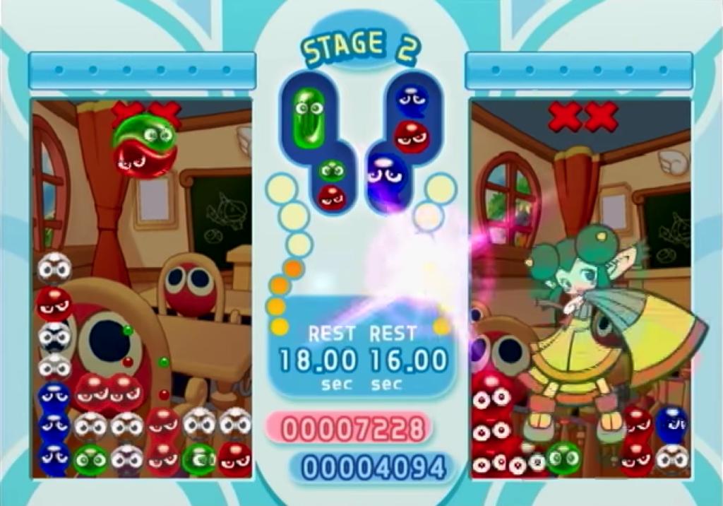 ぷよぷよフィーバー2のゲーム画面