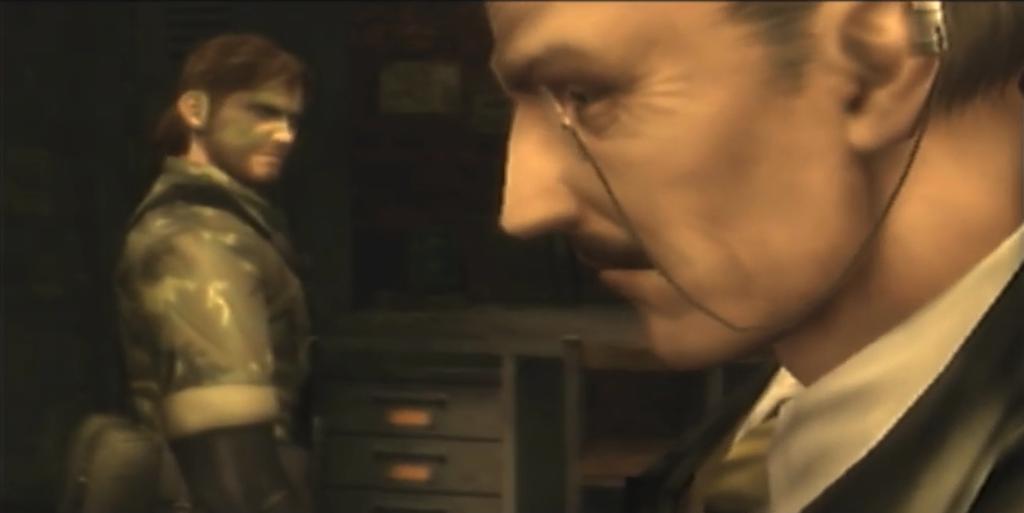 メタルギアソリッド3のゲーム画面