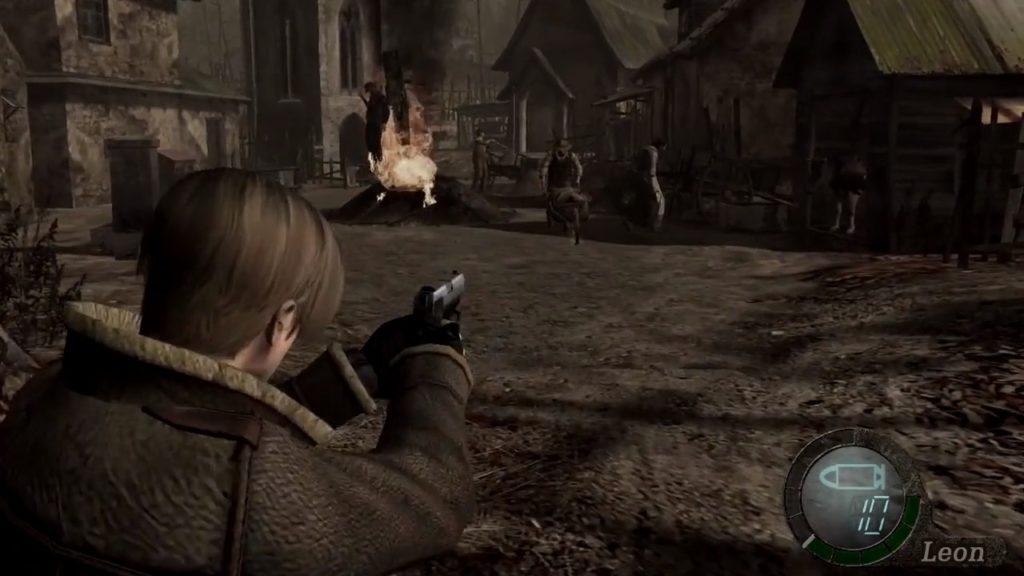 バイオハザード トリプル パックのゲーム画面