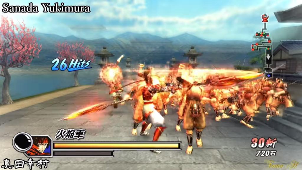 戦国BASARA2 英雄外伝のゲーム画面