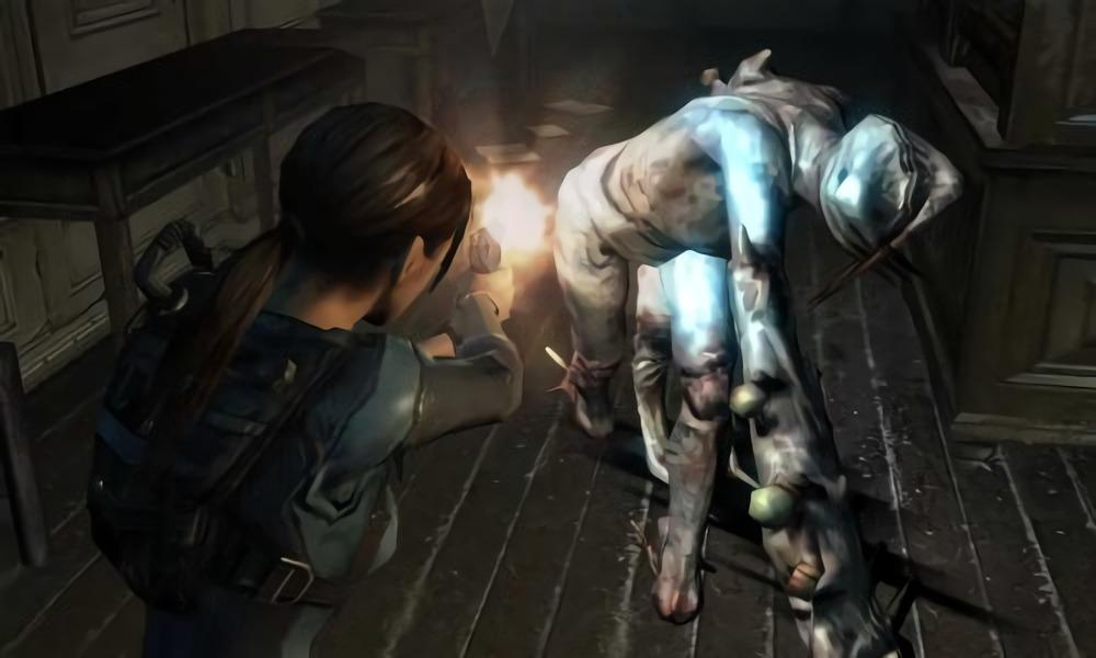 バイオハザード リベレーションズのゲーム画面