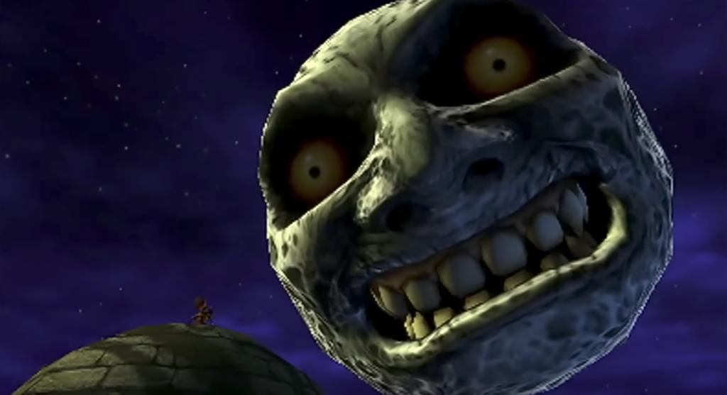 ゼルダの伝説 ムジュラの仮面 3Dのゲーム画面