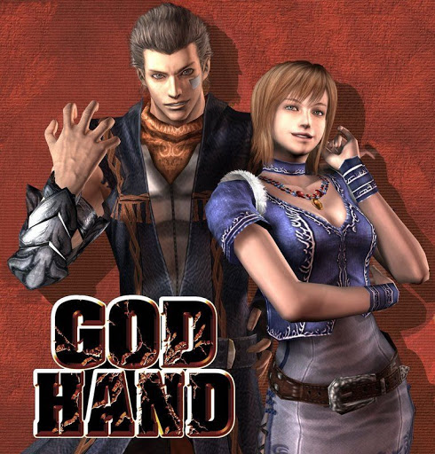 GOD HANDのパッケージ