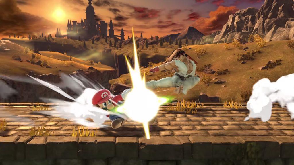 大乱闘スマッシュブラザーズ SPECIALのゲーム画面