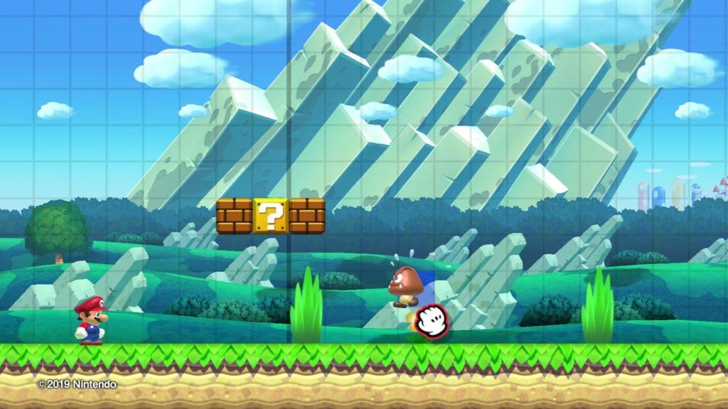 マリオメーカー2のゲーム画面