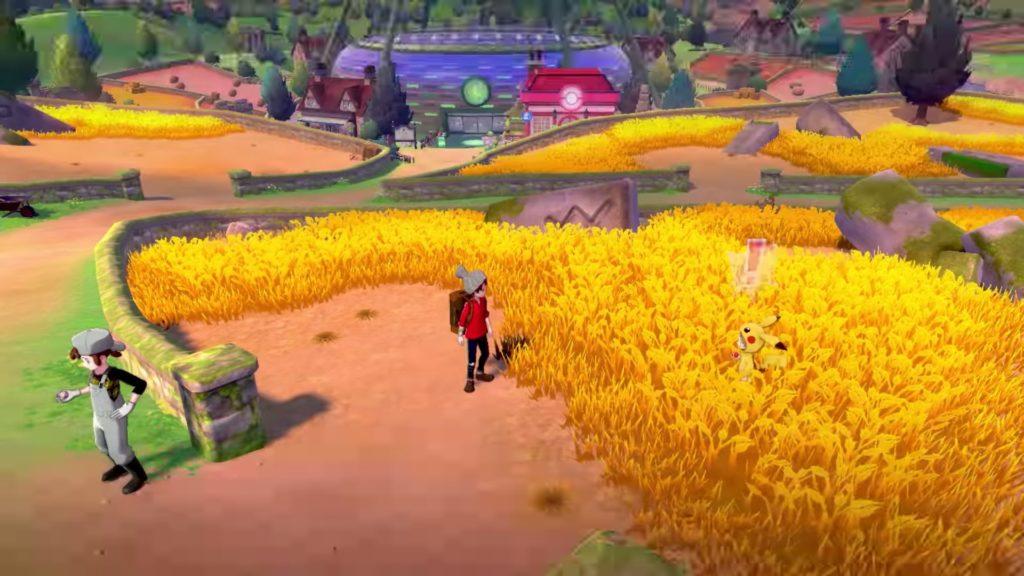 ポケットモンスターソード・シールドのゲーム画面