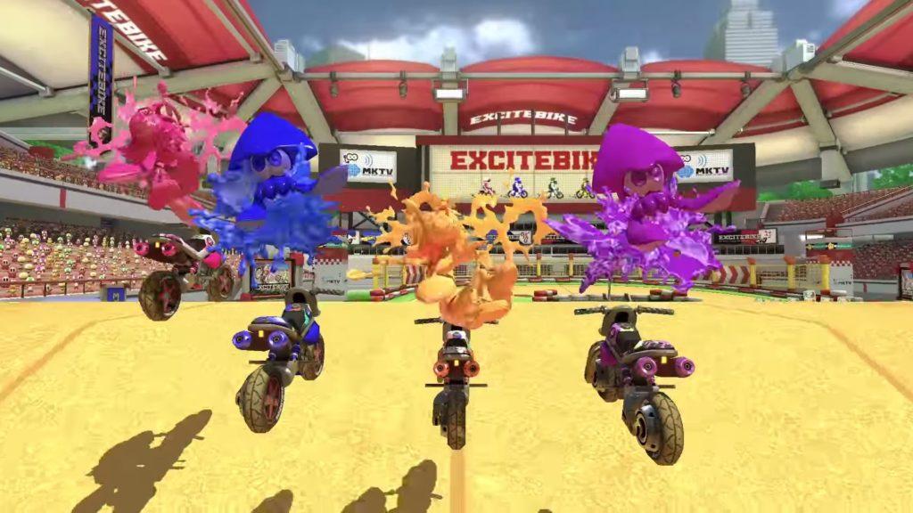 マリオカート8 デラックスのゲーム画面