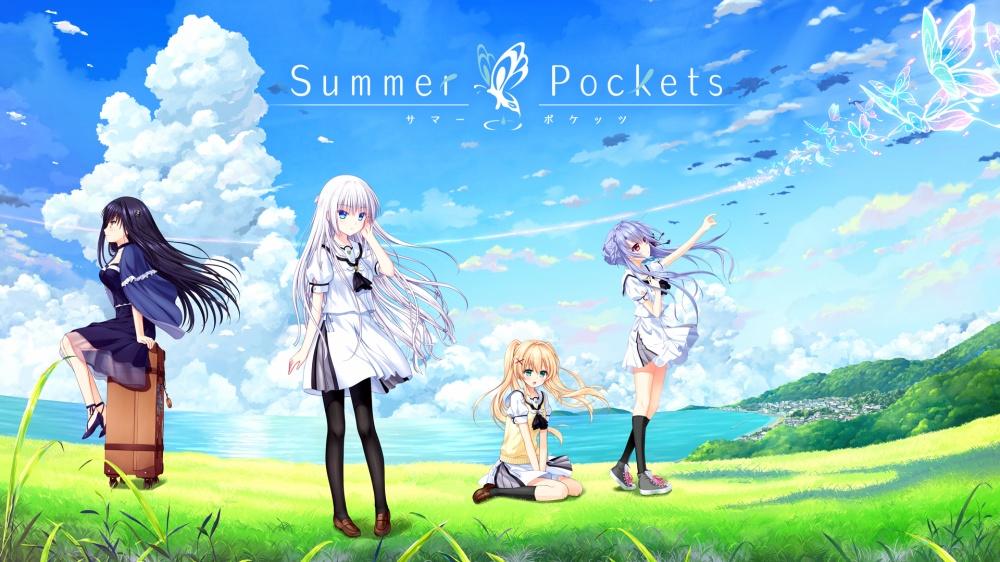 Summer Pocketsのタイトル画面