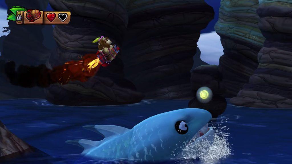 ドンキーコング トロピカルフリーズのゲーム画面