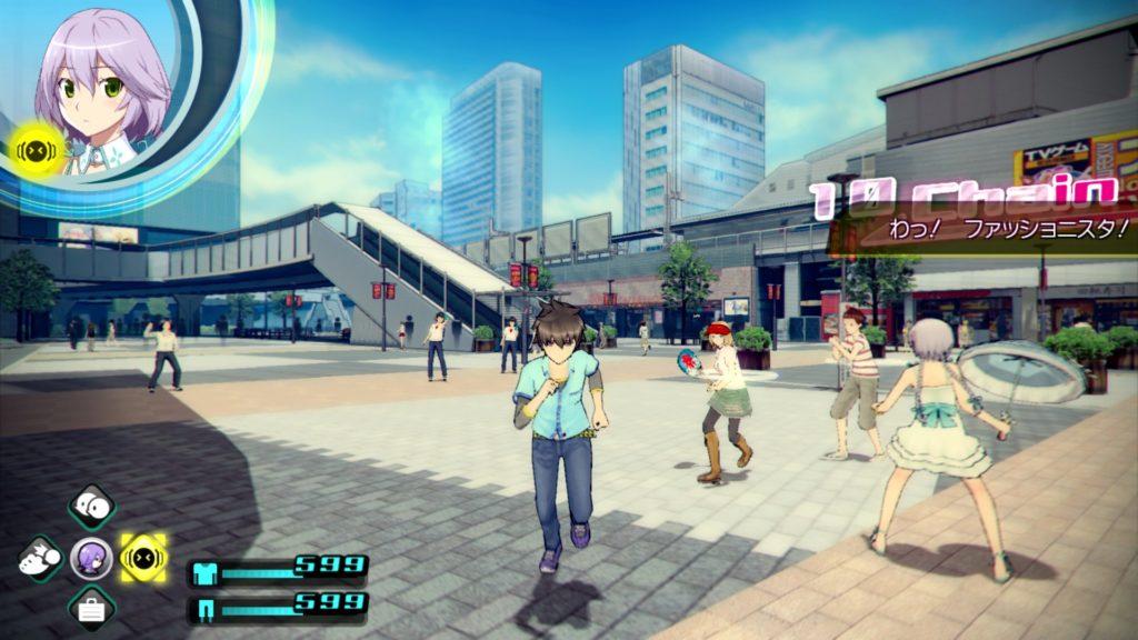 AKIBA'S TRIP2のゲーム画面