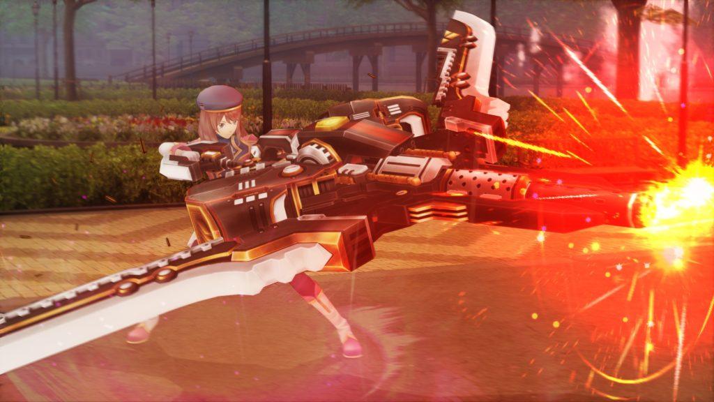 クロバラノワルキューレのゲーム画面