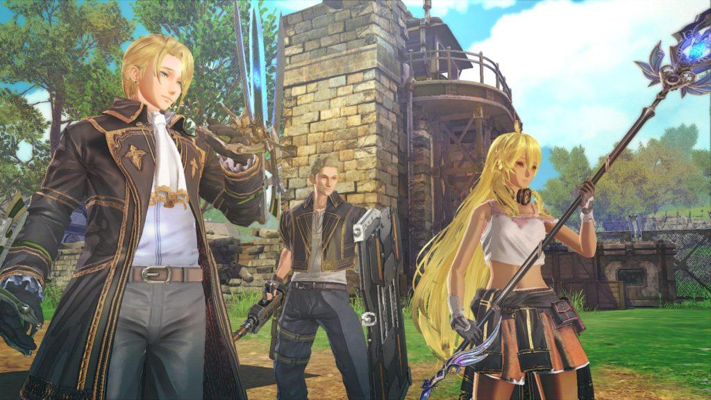 蒼き革命のヴァルキュリアのゲーム画面