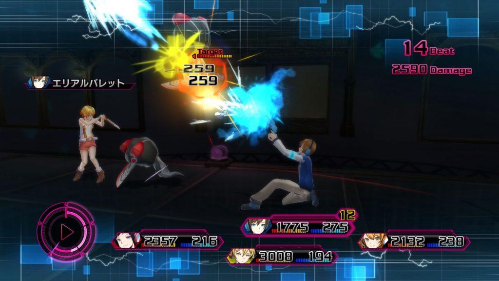 AKIBA'S BEATのゲーム画面
