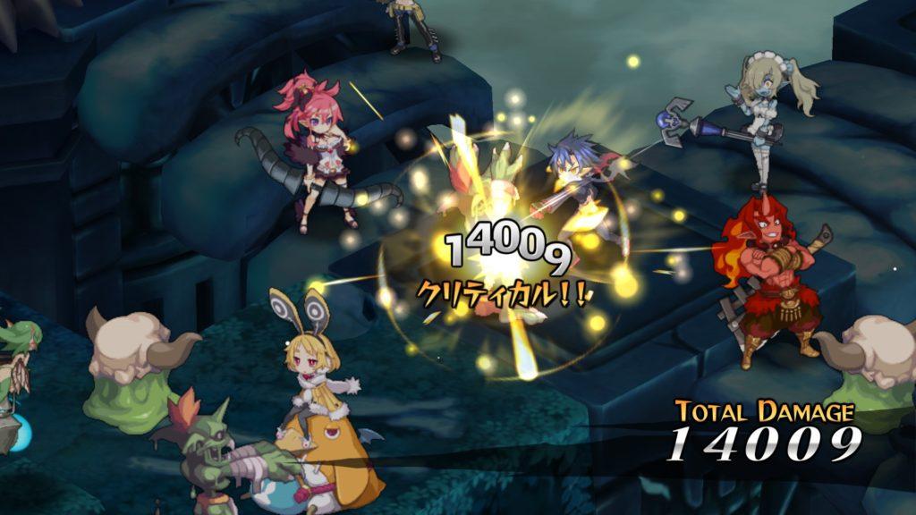 魔界戦記ディスガイア5のゲーム画面