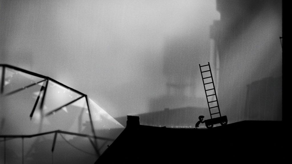 LIMBOのゲーム画面